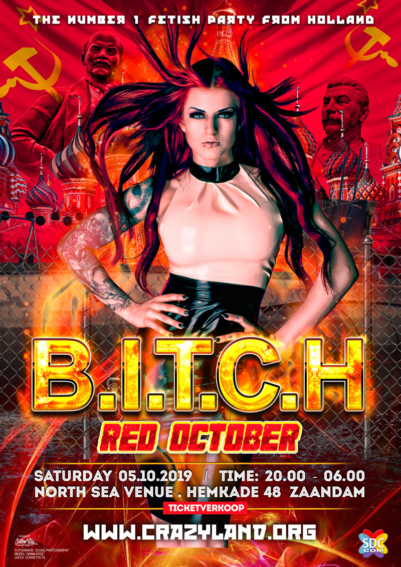 Crazyland Events | B I T C H – Booming New Year – Crazy